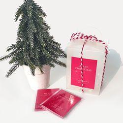 크리스마스 데코 포장 스티커