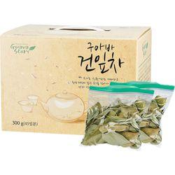 유기농 구아바잎차 (45일분) 300g (25gX12봉지)