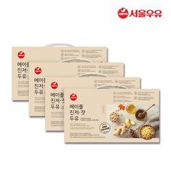 [무료배송] 서울우유 메이플진저잣두유 180ml 80팩 빨대포함