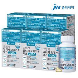 JW중외제약 초임계 rTG 알티지 오메가3 맥스 2000 6병 (360캡슐)