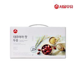 [무료배송] 서울우유 대추야자잣두유 파우치190ml 20팩