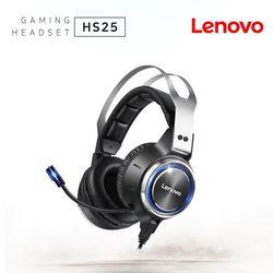 레노버 HS25 가상7.1 RGB LED 진동 게이밍 헤드셋