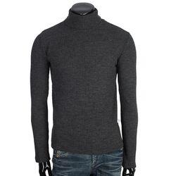 [쿠비코]골지 폴라넥 티셔츠 COT-MB658R