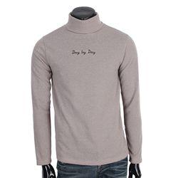 [쿠비코]DYD 레터링 폴라넥 티셔츠 COT-MB656R
