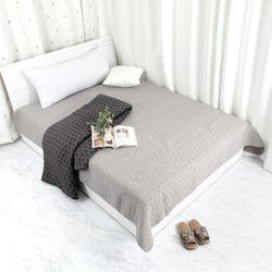 헥사 워싱 면 카페트 침실 거실 러그 스프레드 160x210