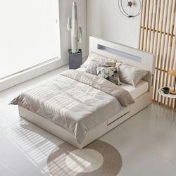릴리즈 QK겸용 2단서랍 침대