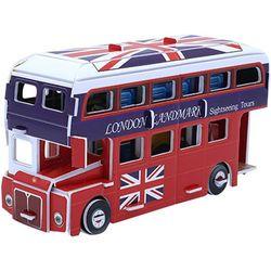 43피스 우드락 입체퍼즐 - 런던 2층 버스 (미니)