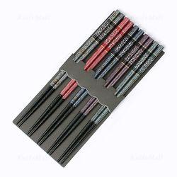 일본 천연목 패턴 젓가락 (은펄국화) - 5벌세트