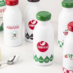 [정품]서울우유 보온보냉 이중진공 스텐 텀블러 5type