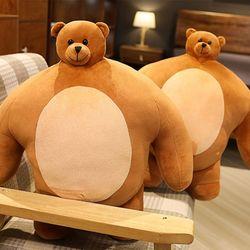 어깨깡패 소두 곰인형 대형 46cm