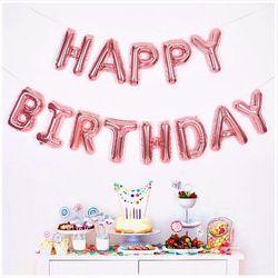 생일은박풍선세트 HAPPY BIRTHDAY 14색상