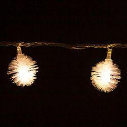 LED 전구캡 솜털 3cm(9개입+1개) TRLECV