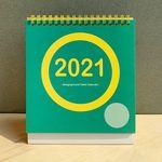 2021 designground Table Calendar