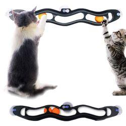 고양이 장난감 움직이는 캣토이 셀프 트랙볼 공 쥐