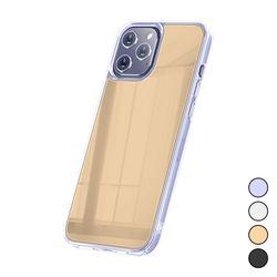 아이폰12프로맥스 클리어 미러 슬림 젤리 케이스 P108