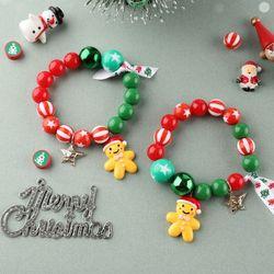 산타쿠키팔찌만들기(1개)크리스마스만들기비즈공예