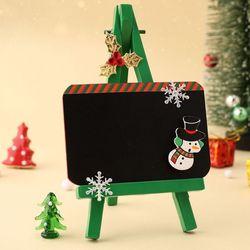 이젤이있는성탄보드(1개)크리스마스만들기플라스틱