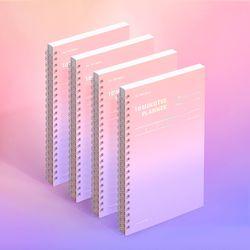 텐미닛 플래너 100DAYS 컬러칩 - 드림 캐처 4EA