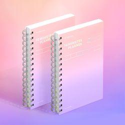 텐미닛 플래너 HALF YEAR 컬러칩 - 드림 캐처 2EA