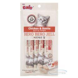 베로베로 젤 5p 닭고기 가다랑어 고양이 간식