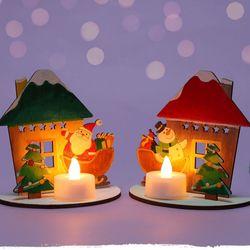 선물을기다리는캔들하우스(1개)크리스마스만들기재료