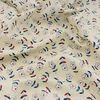 [Fabric] 베이지 그룸 플라워 코튼