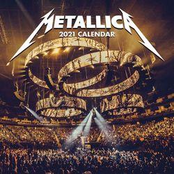 메탈리카 2021 캘린더 Calendar 달력
