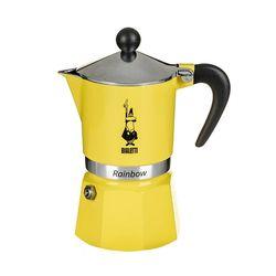비알레띠 모카포트 레인보우 옐로우 3컵