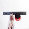 노드릭 4P 펌프킨 다용도 벽장식 옷걸이 800-블랙우드 블랙훅
