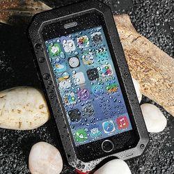 아이폰12미니 강화유리 멀티 메탈 하드 케이스 P123