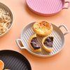 BPA FREE 전자레인지 국산 플레이트 그릇 원형 접시 S사이즈
