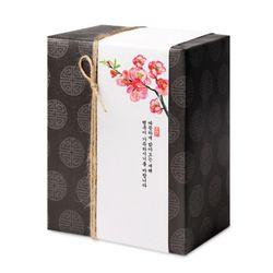 매화꽃 행복한 새해 띠종이 (10개)