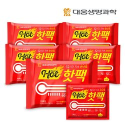 대웅생명과학 손난로 핫팩(포켓용1매입) 50개