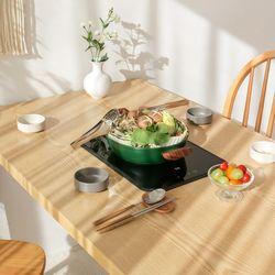 포홈 리브 4인 인덕션 식탁