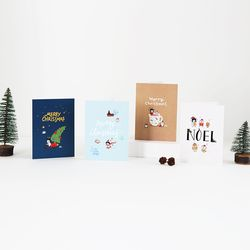 그레이스벨 크리스마스 카드 (4종)
