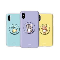 아이폰12 미니TC-윈도우애니멀즈 스마트톡 하드 케이스