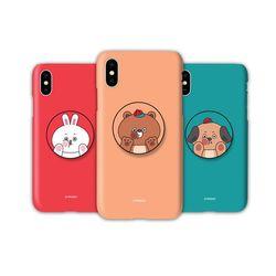 아이폰12 미니TC-볼때기캐릭터 스마트톡 하드 케이스
