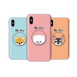 아이폰12 미니TC-마이펫 스마트톡 하드 케이스