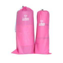 스포츠 용품 요가 매트 수납 보관 가방 폴리백 핑크