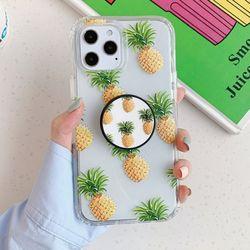 파인애플 해바라기 스마트톡 세트 아이폰12 케이스