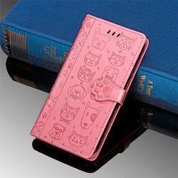 애니멀 패턴 동물캐릭터 다이어리 지갑 갤럭시 케이스