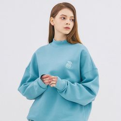 SMALL MONO LONG SWEATSHIRT-MINT