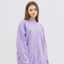 SMALL MONO LONG SWEATSHIRT-LAVENDER
