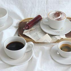 뉴욕 레트로 커피잔 세트 카페 머그
