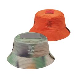 20 CAMOUFLAGE REVERSIBLE BUCKET HAT PATTERN
