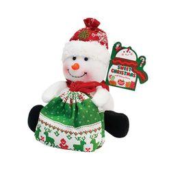 세트크리스마스인형(눈사람)