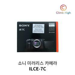 소니 풀프레임 미러리스 카메라 A7C 바디  ILCE-7C 블랙