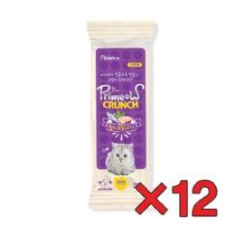 고양이간식 과자 미요 캣 크런치 12p 참치와닭고기