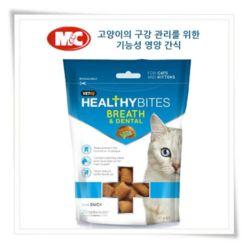 고양이 간식 엠씨 캣 브레스 덴탈 65g