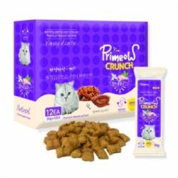 고양이 과자 크런치 맛있는 참치 닭고기 20gX12개
